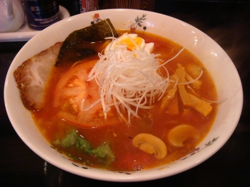 赤拉麺@白河拉麺
